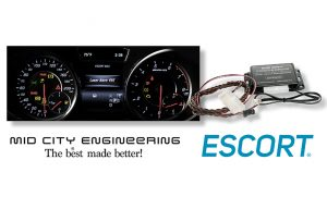 ESCORT Radar and Mid City Engineering Announce OEM Integration of the MAX Ci and MAX Ci 360 into Mercedes, Audi, Porsche and more