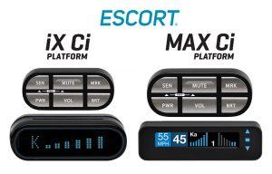 ESCORT Radar Introduces new iX Ci and MAX Ci Platform Custom Install Detection Systems